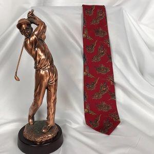 Bundle any 3 Ties for $15 Silk Pheasants Tie